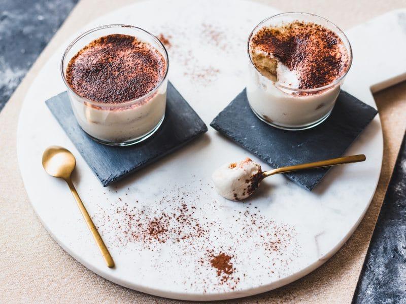 tiramisu chocolat-recette italienne-dessert