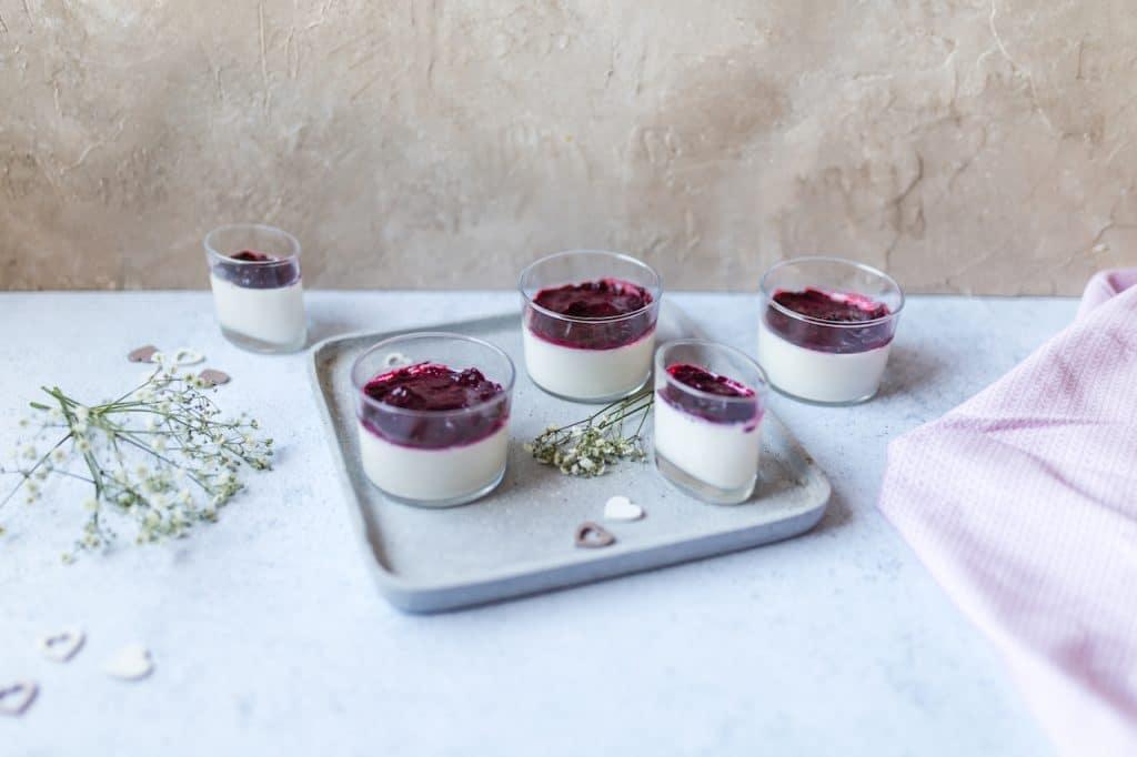 repas saint valentin-dessert-panna cotta