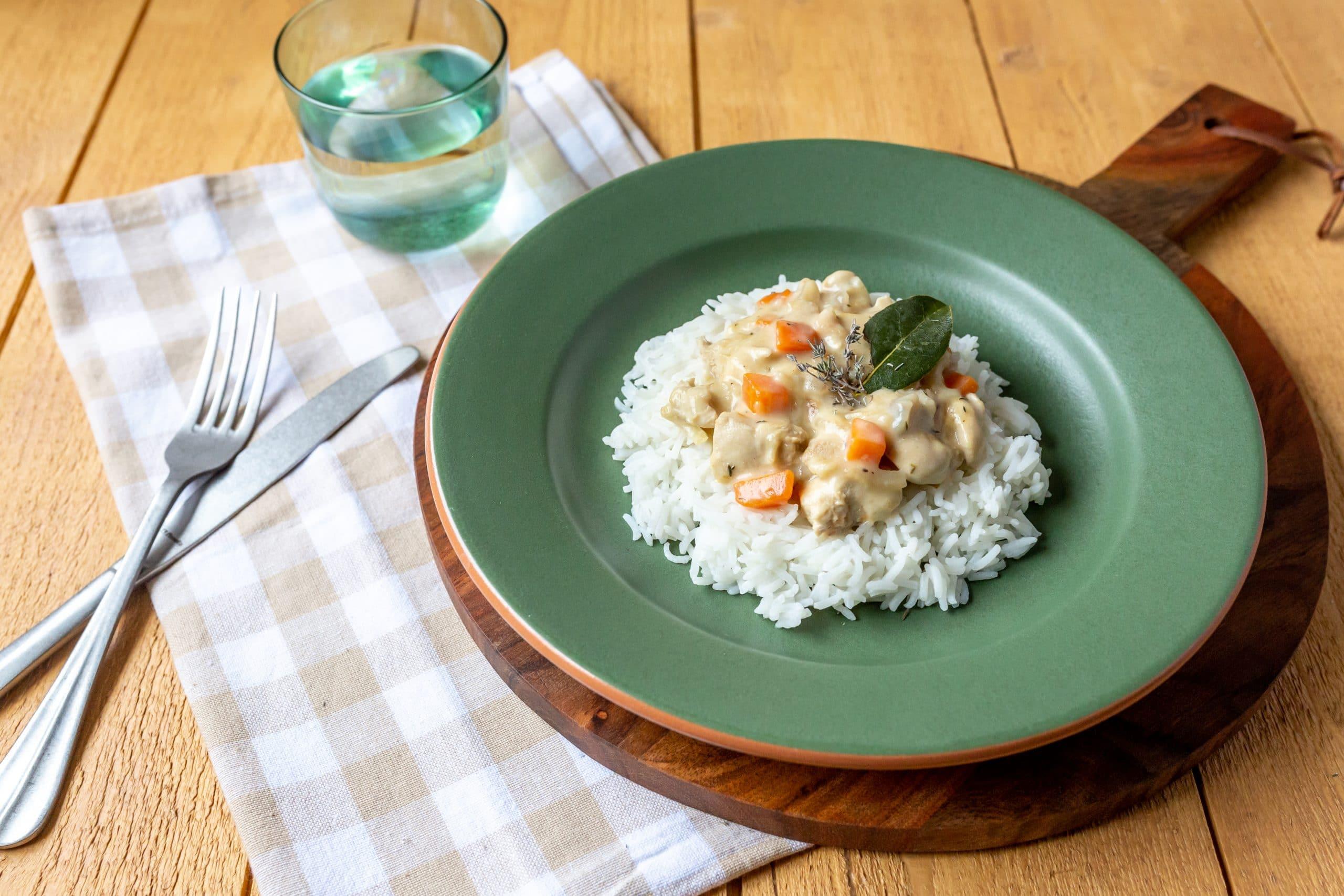 blanquette de dinde-photographie culinaire lille-recette-plat mijote